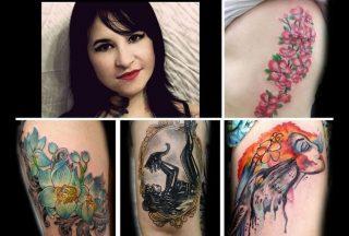 I tatuaggi di Flavia Carvalho
